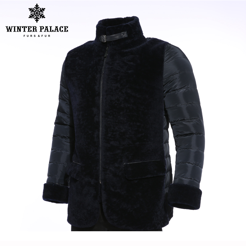 Marque Col Doudoune Montant De Manteau gray Canard Pour Femme Vêtements D'hiver Fourrure Gris Petit Haute Blue Veste Qualité Hommes D9YE2HIWe