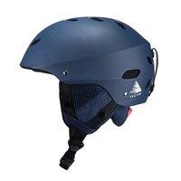 Vector Men Women Ski Helmet Skiing Snow Safety Skateboard Snowboard Helmet Adjustable Protective Outdoor Skating Sports Helmet
