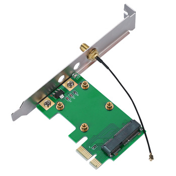 Mini PCI-E To PCI-E Riser Card Expand External Adapter Network Cards Support All PCI-E Mini Cards Electric Accessories