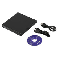 Newest Black USB 2 0 External CD RW DVD RW DVD RAM Burner Drive Writer For