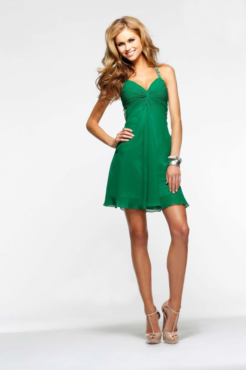Cotail Dresses 2015 Green