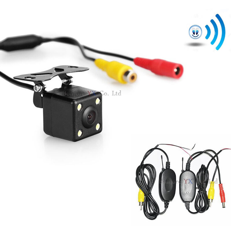 2.4G Wireless Transmitter Receiver For Universal Parking Car Rear view Back up R