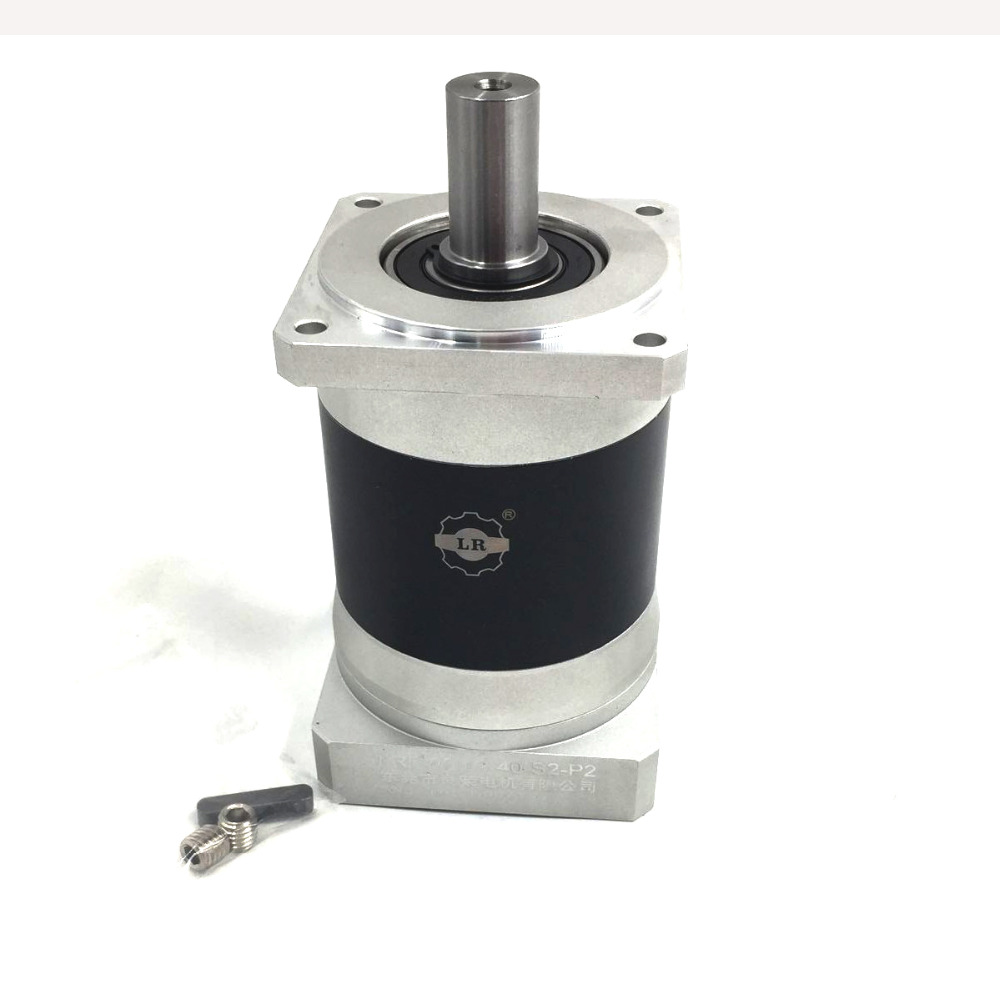 AC Servo Speed Reducer 10:1 Gear Ratio 86mm Servo Motor Reducer NEMA 34 Speed Reducer Planetary Reducer LRF90-10 New 60w ac reversible motor 5rk60gu cf with gear ratio 90 1 output speed is 15 r m gear head 5rgu 90k