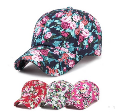 2017 Summer Sun Hats Japanese Fashion Baseball Caps Women Floral Hats Spring Snap back Hats Unisex Caps gorras BF-148