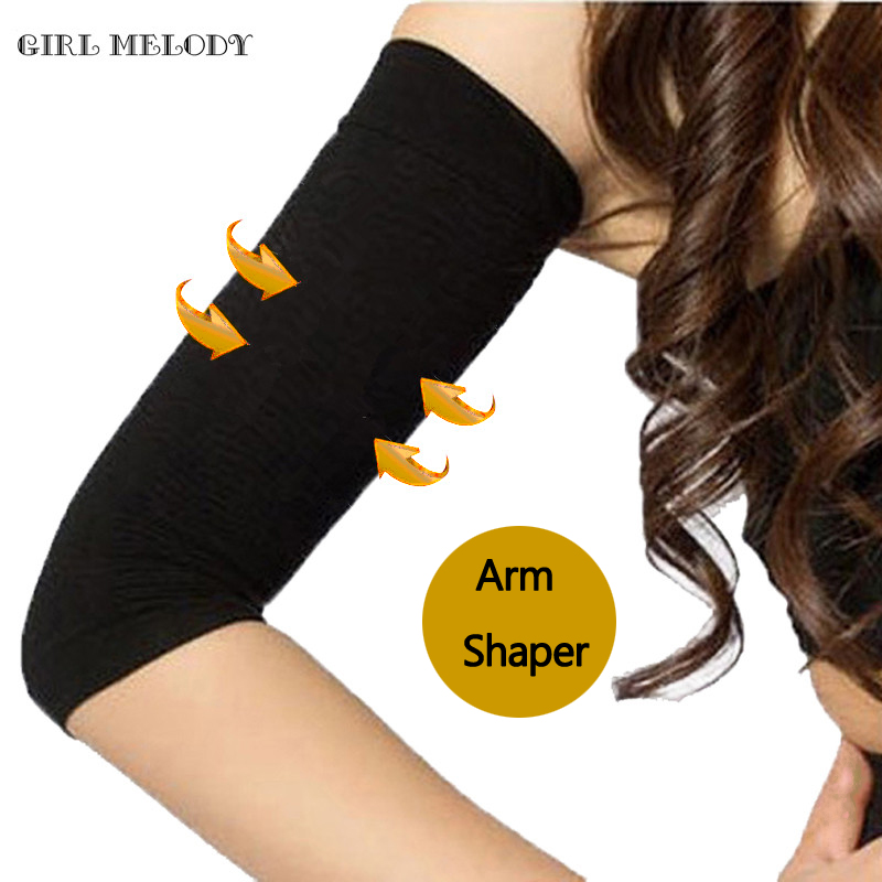 Girl Melody Slimmers Sleeves For Women Upper Arm Shaper Sweat Loss Weight Shapewear Hot Body Shapers
