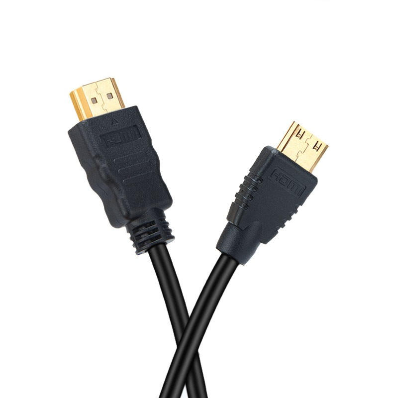 Elecrow 2pcs/lot HDMI to Mini HDMI Cable 150CM Data Cable for Screen/ Camera and Devices with Mini HDMI port