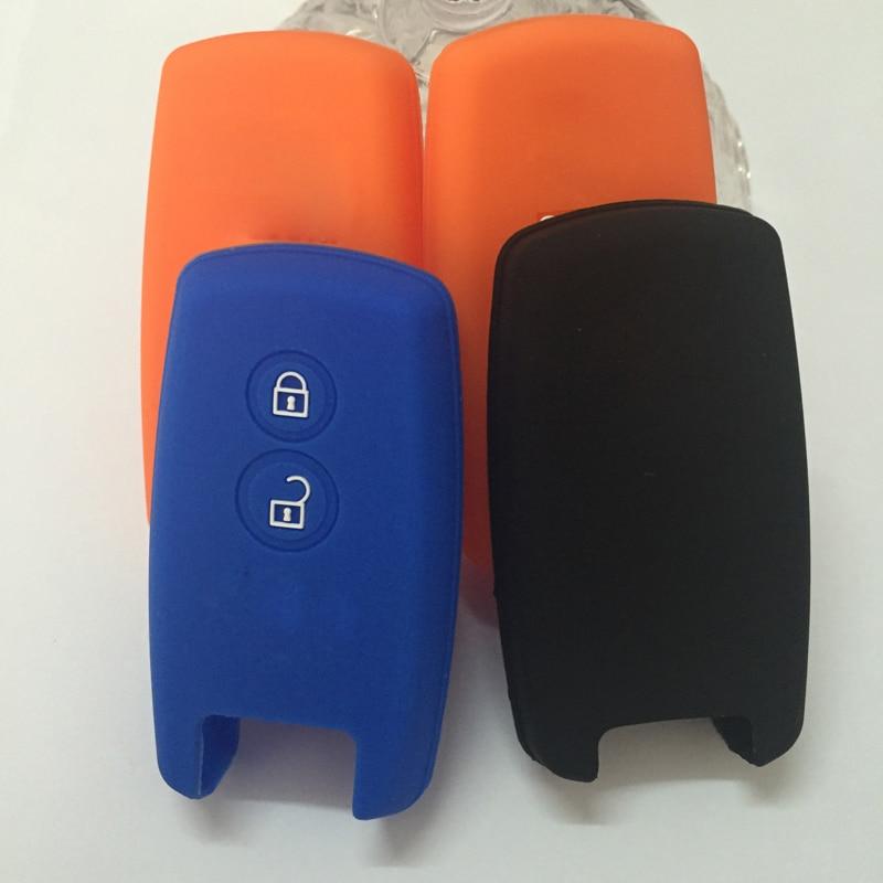 Modified car key shell Silicone key Case Cover for Suzuki SX4 2007 2008 2009 2010 2011