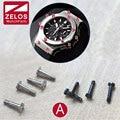 4 unids/set H hub en forma de Tornillo Para hub bigbang venda de reloj/correa/case/estirón/cinturón de H tornillo, Mantenimiento reloj accesorios (Un puesto)