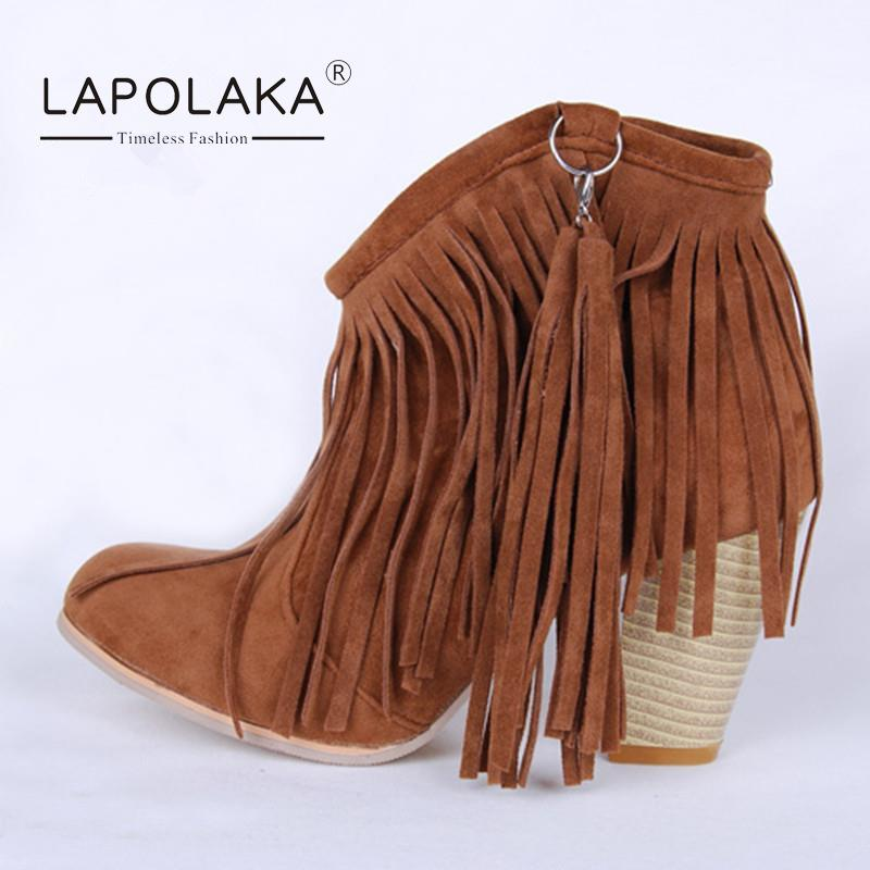 Online Get Cheap Boots Fringe Ankle Boot -Aliexpress.com | Alibaba ...