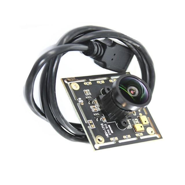 HBVCAM USB מצלמה מודול CMOS 1/2. 7 אינץ אופטי פורמט Ov2710 HD 1080P מצלמה מודול עם 130 תואר זווית עדשה