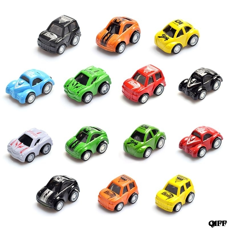 Drop Ship&Wholesale Mini Pull Back Let Go Fast Racing Car Racer Vehicles For Kids Children Gift May06