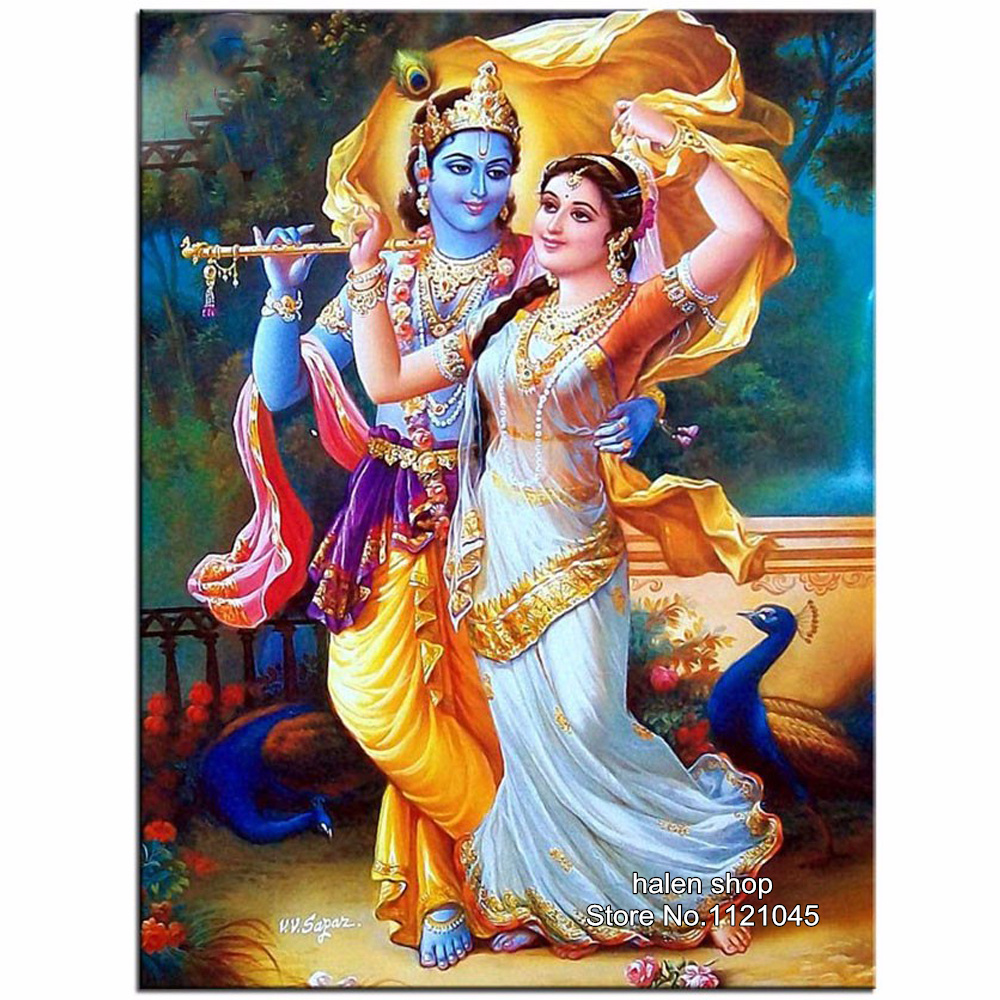 diy diamond painting cross stitch radha krishna 3d diamond
