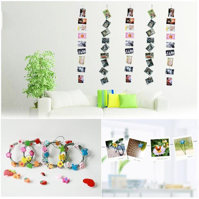 Interesting Magnetic Photo rope picture rope Photo wall Creative iron rope  Can be cross-linked
