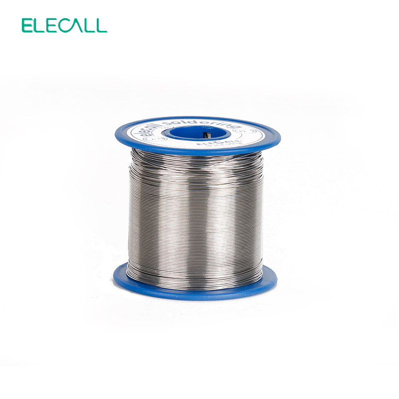 ELECALL New Arrival 55/45 Tin 1.2mm 450g Rosin Core Tin/Lead 1.2mm Rosin Roll Flux Reel Lead Melt Core Soldering Tin Solder Wire qitian b5510200g lead tin soldering wire wick roll silver