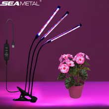 USB Grow Light Fitolamp 9/18/27W LED Lamp For Plants Seedlings Table Lamp With Controller Full Spectrum Indoor Flower Fitolampy