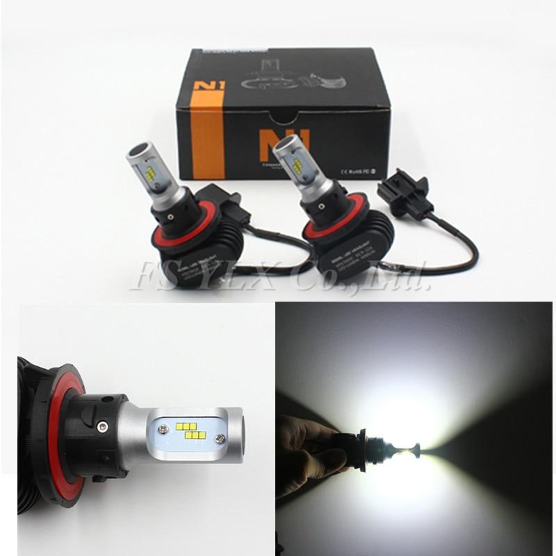 5sets 8000LM led fog drl headlight H13 led headlight lamp Hi/Lo car auto led headlight bulbs led car lamp auto bulb h4 9004 9007 дрель аккумуляторная ударная bosch psb 18 li 2 ergonomic 2 аккумулятора