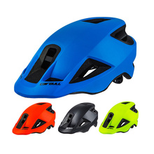 2018 New Ultralight All Mountain/Trail Bicycle Helmet Bike Sports Safety Helmet MTB Road Cycling Helmet In-mold BMX Brim 55-59CM