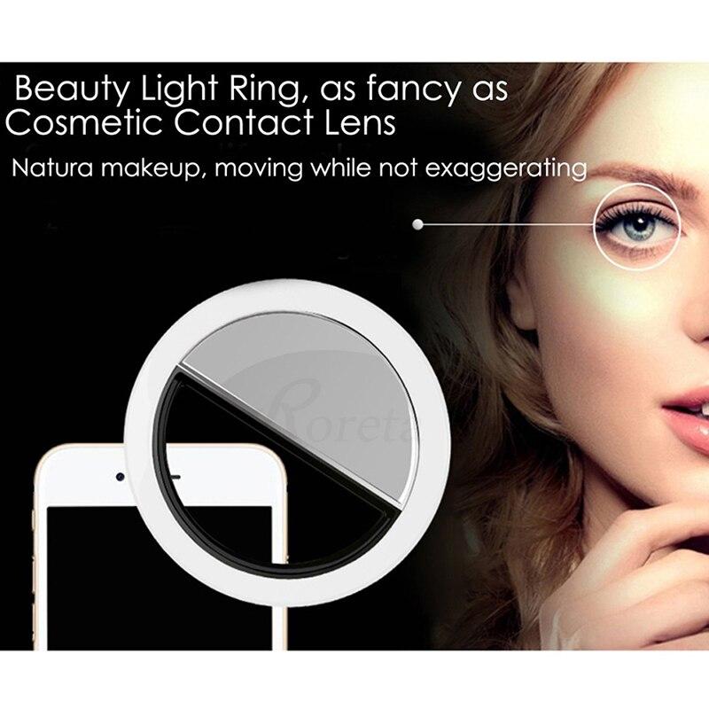 Roreta USB Charge 36 LED Lamps Selfie Night Light For iPhone Lighting