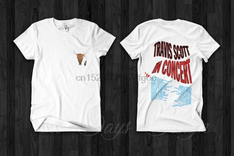 FINAL PRICE Travis Scott Astroworld Tour Merch 2019 T Shirt Men Black S-5XL HOT