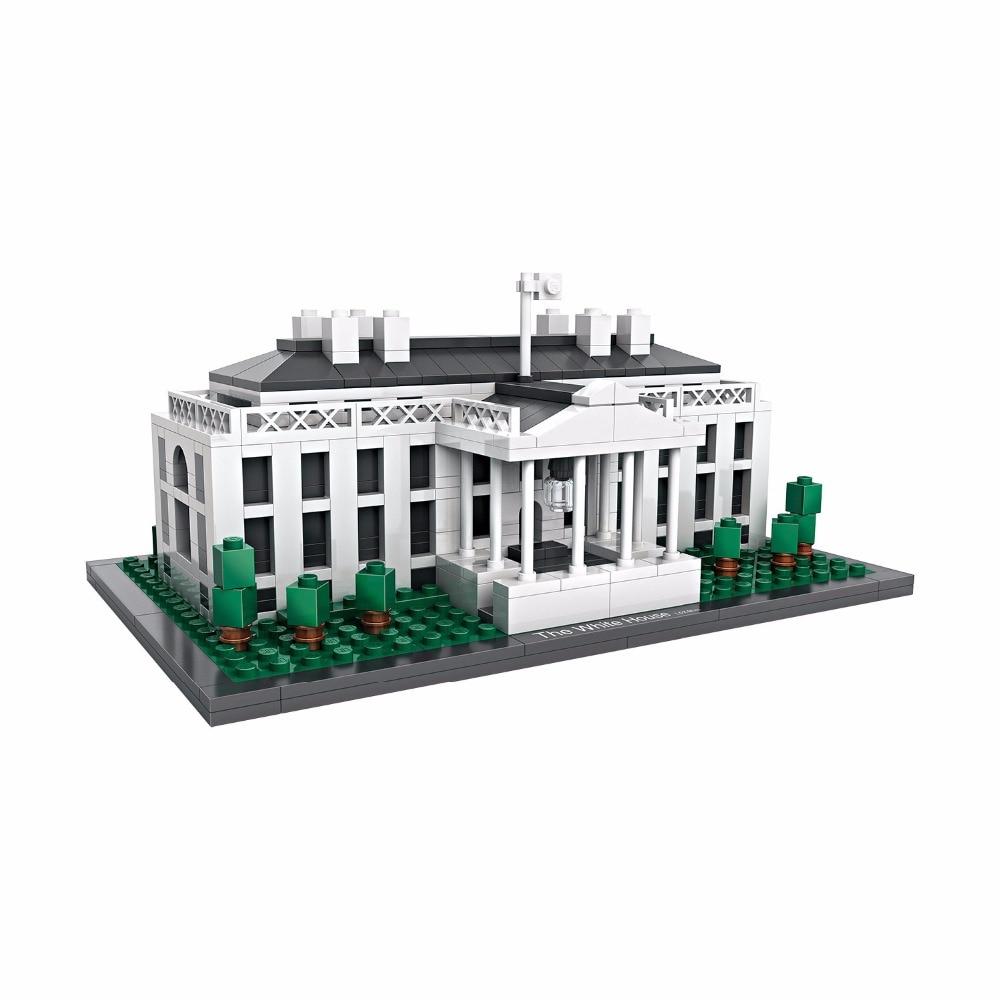 2017 Presidential palace of USA White House Washington America nanoblock mini diamond building block world famous Architecture paul volcker a senseless panic how washington failed america