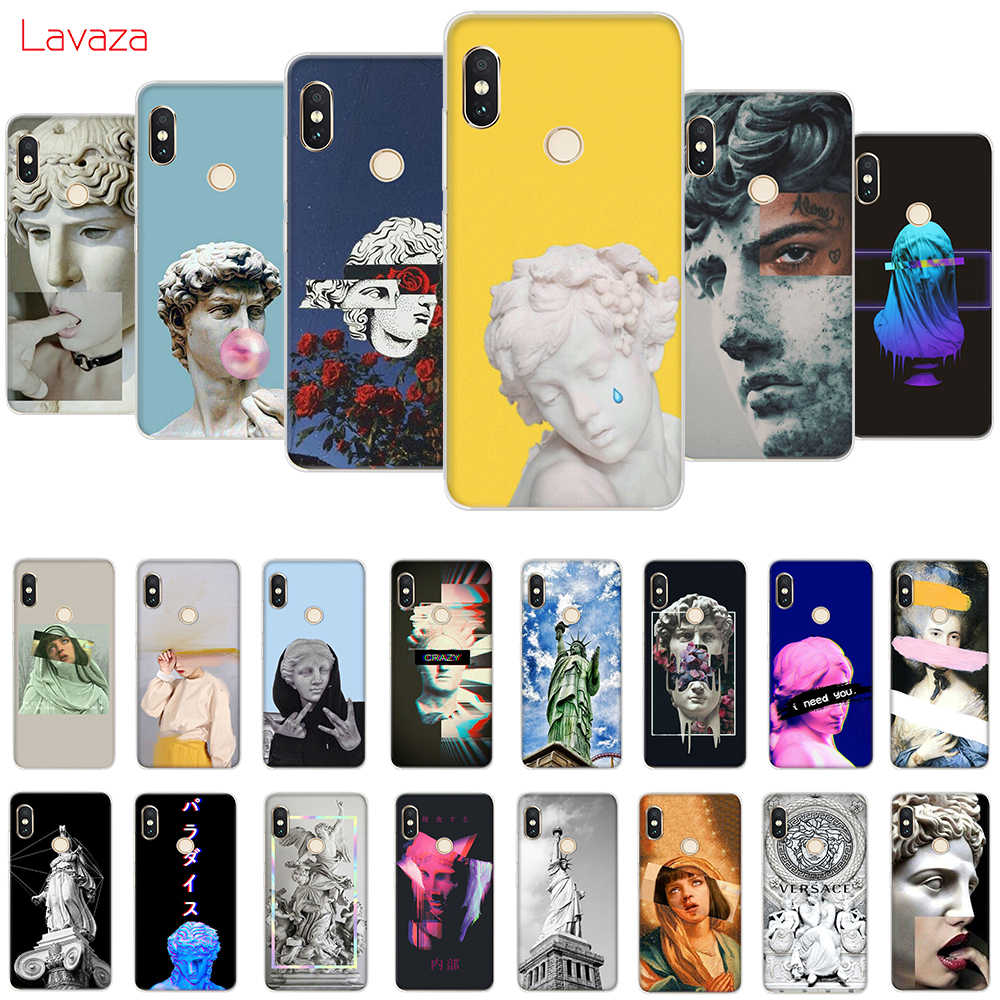 Lavaza Vintage Plaster Statue David Art Hard Case for Huawei Mate 10 20 P9 P10 P20 Lite Pro P smart 2019 for Honor 8X 8C Cover