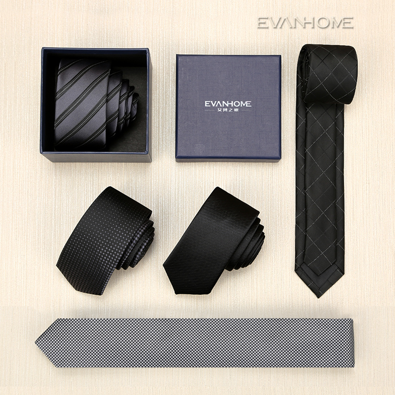VÝPRODEJ Nové 2017 vysoce kvalitní designéři značky 5CM Slim Tie Men Casual kravaty pro muže Silk Tie Pánské kravaty Luxusní kravata s dárkem BOX