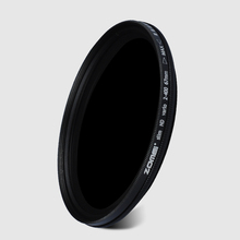ZOMEI Slim Adjustable Neutral Density ND2-400 Filter for Canon Nikon Ca