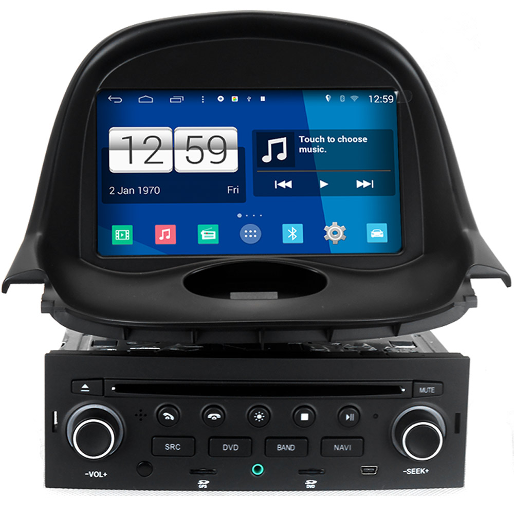Winca S160 Android 4 4 System Car DVD GPS Headunit Sat Nav for Peugeot 206 with
