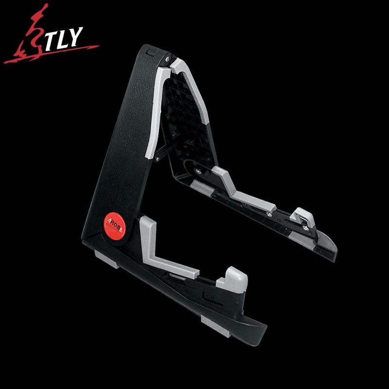 AROMA Length Adjustable Foldable ABS Mini Guitar Ukulele Stand A-frame Holder Bracket Mount For Ukulele Violin Mandolin