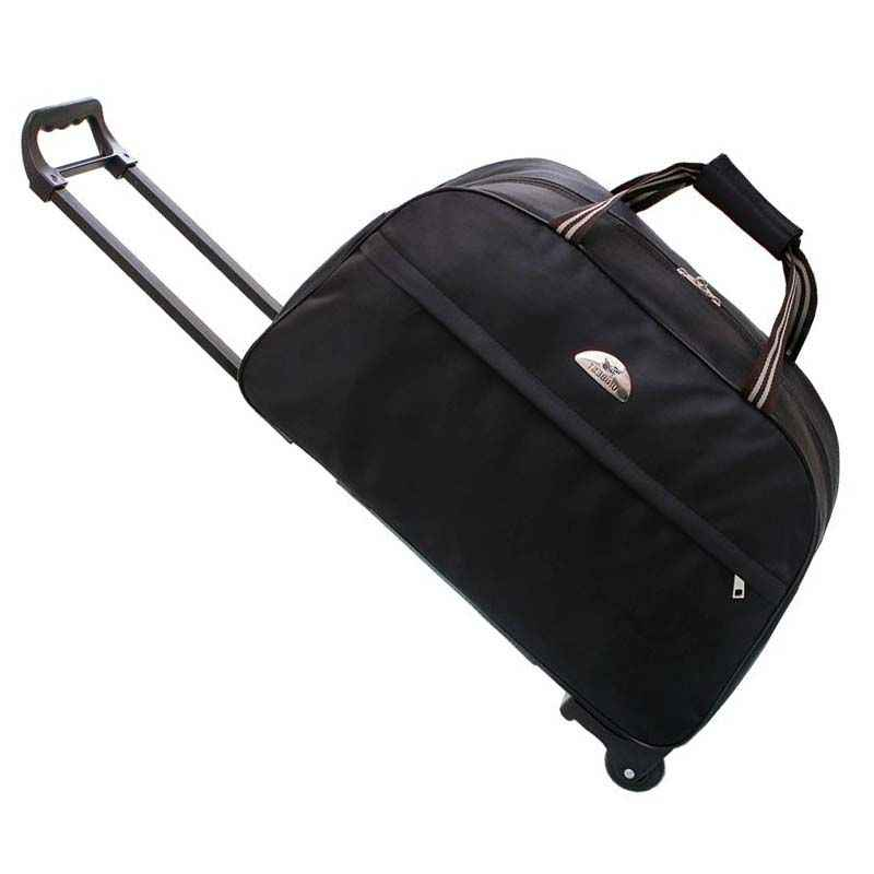 2017 equipaje de ruedas bolso de viaje de Metal con ruedas equipaje de mano