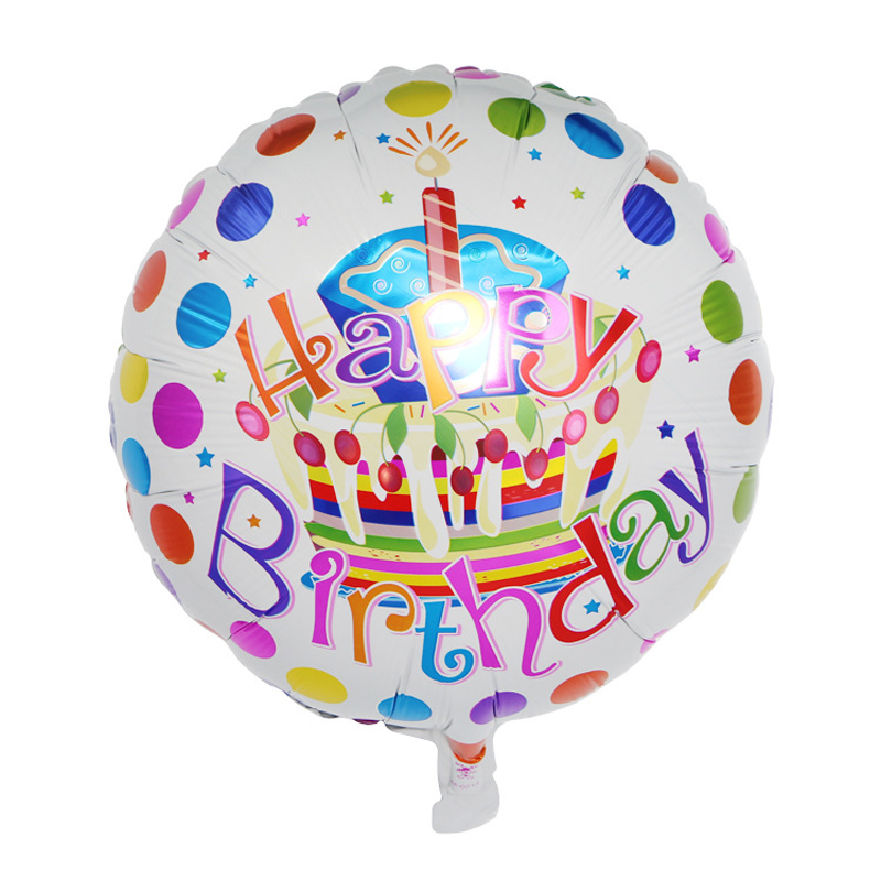 Cool Birthday Candle Cake Balloon Happy Birthday Aluminum Balloons With Birthday Cards Printable Benkemecafe Filternl