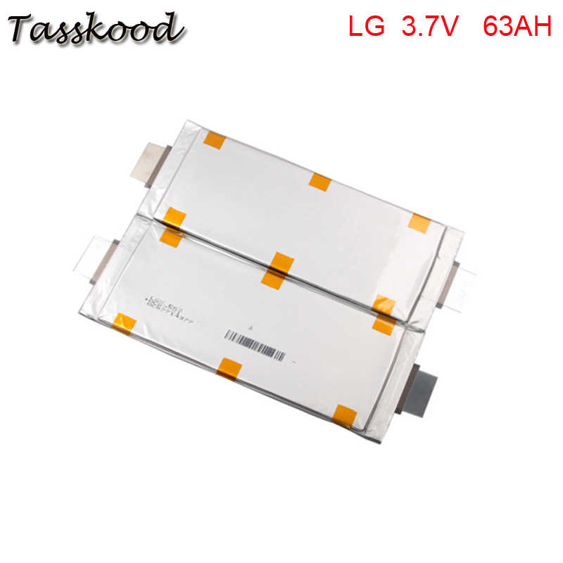 No taxes 3.7V 63Ah 60Ah LG Lithium Polymer Battery Pouch Cell for Lithium Custom Electric Bike Battery Packs