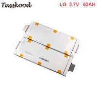 Keine steuern 3,7 V 63Ah 60Ah LG Lithium-Polymer Batterie Pouch Handy für Lithium Benutzerdefinierte Elektrische Fahrrad Batterie Packs