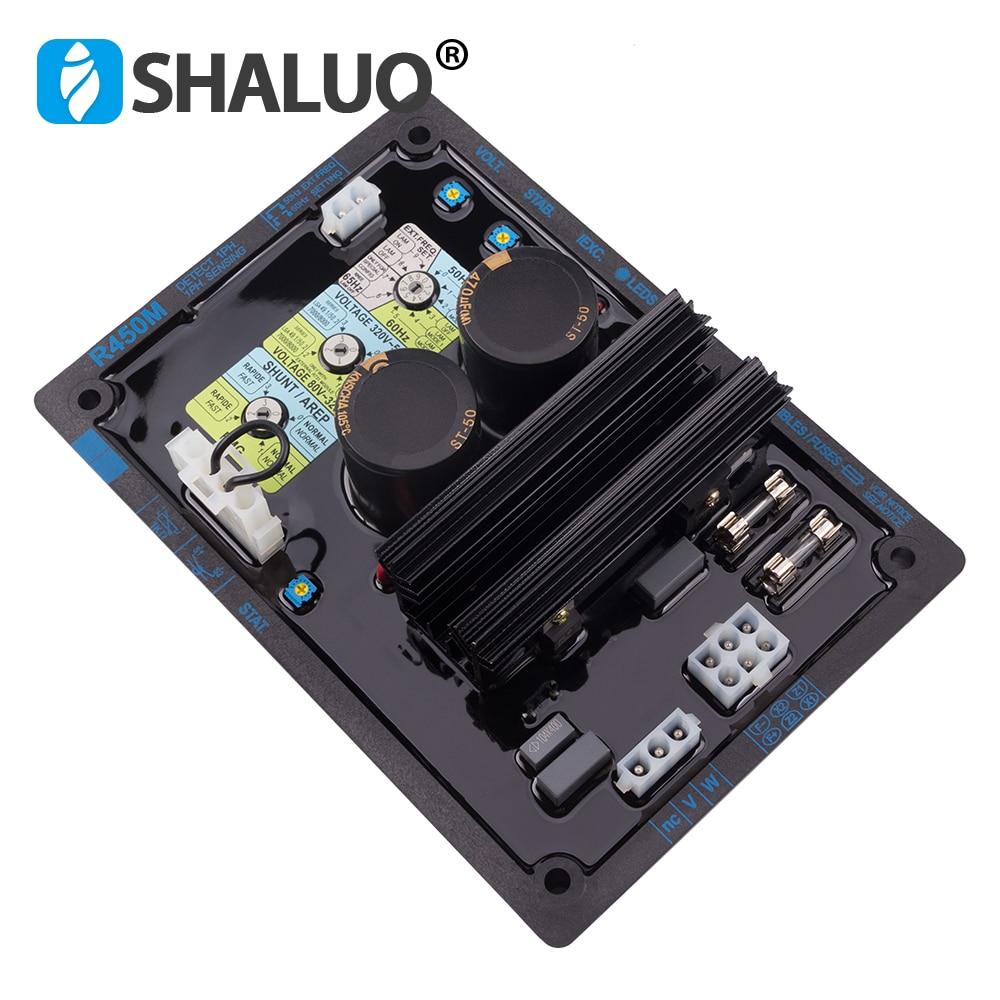 Высококачественный Программируемый генератор переменного тока с интегральной схемой AVR R450M автоматический регулятор напряжения