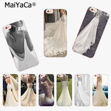 MaiYaCa Beautiful bride wedding dress Luxury High-end phone Case for iphone 11 pro 8 7 66S Plus X 10 5S SE XS XR XS MAX(China)