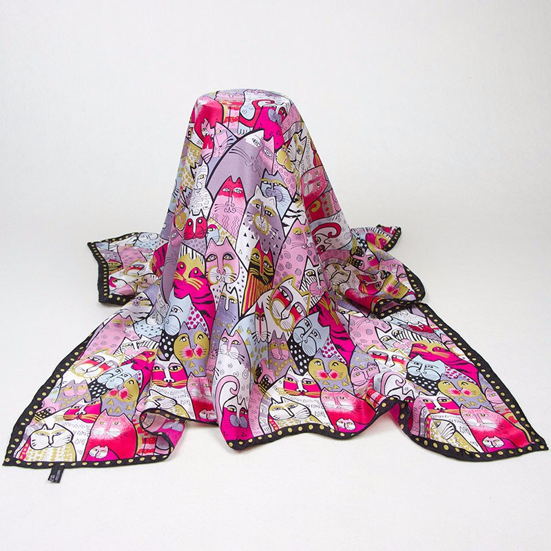 silk-scarf-85cm-01-colorful-cats-2-3