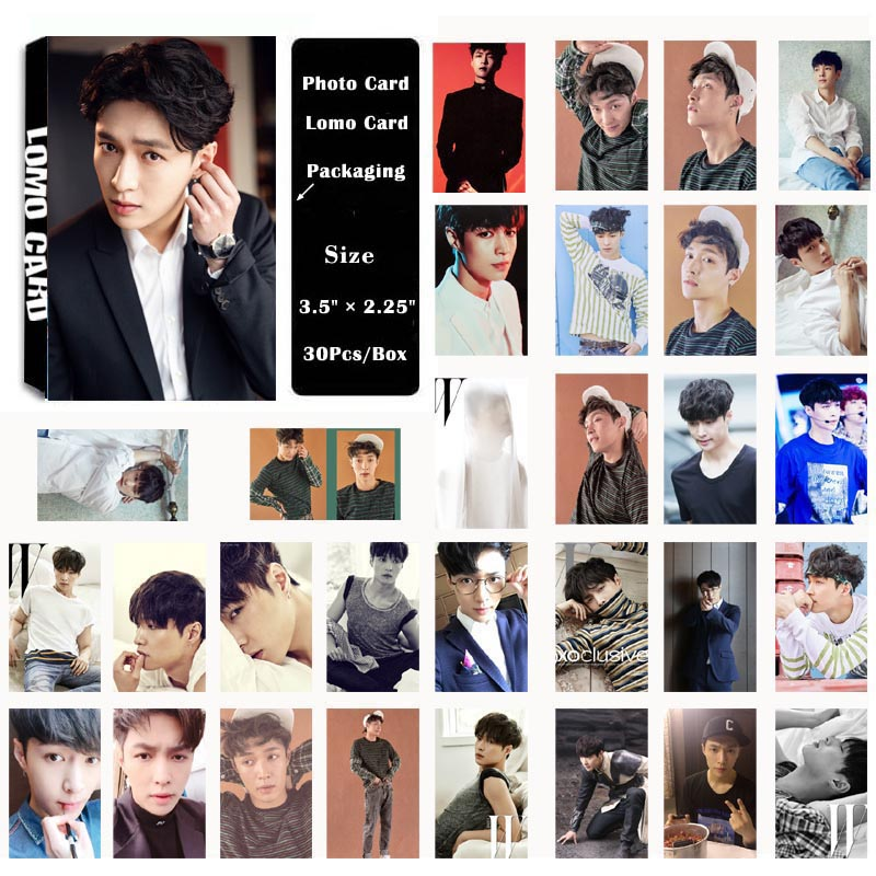 Beads & Jewelry Making Jewelry Findings & Components Yanzixg Kpop Exo Album Sehun Self Made Paper Lomo Card Photo Card Poster Hd Photocard Fans Gift Collection