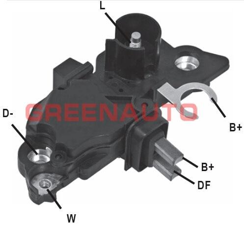 14V regulador de voltaje de alternador para alternador OEM 0124215001 de 0124415015 de 0124325009 para FIAT FORD ALFA ROMEO