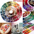 447 teile/satz 8 M Anchor Kreuz Stich Baumwolle Stickerei Gewinde Floss Nähen Stränge Craft DIY Bekleidung Nähen Themen
