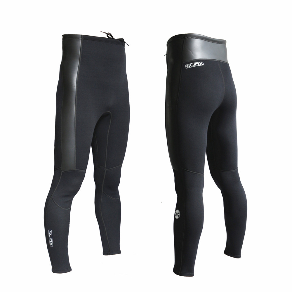 SLINX diving pants 2mm Neoprene long trousers unisex keep warm for wetsuit Surfing Scuba Diving Windsurfing
