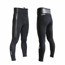 SLINX buceo 2mm neopreno pantalones largos unisex mantener caliente traje  de neopreno surf buceo windsurf pesca Snorkeling 86eb871be38