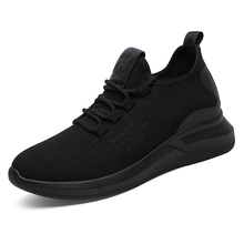 Hot Sale New Fashion Women Casual Shoes Mesh Sneakers Ladies Black Breathable Lightweight Walking Summer 2019 B0011