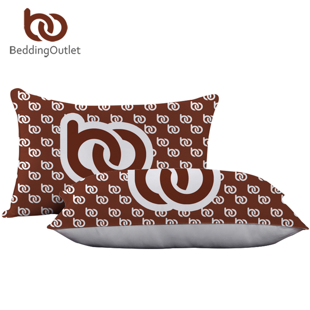 BeddingOutlet Customized DIY Print on Demand POD Pillow Custom Made Bedding Neck Sleeping Down Alternative Pillow Home Textiles