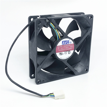 Original AVC 12V 0.41A 9025 92MM 90MM 90*90*25mm 92*92*25mm Cooing fan For CPU Cooling fan DS09225R12H with PWM 4pin sxdool original axial fan 92 92 25mm 9025 9cm 90mm 2250rpm ac 220v dual ball bearing industrial cooling fan
