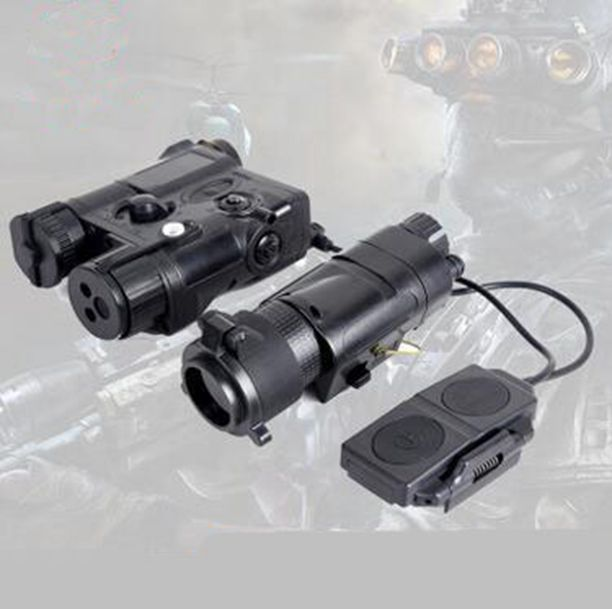 Airsoft SF PEQ 16A Tactical lights Combo L-3 Advanced Illuminator with M3X Aiming Red Laser and IR light combo sinairsoft tactical peq 15 red laser with white led flashlight torch ir illuminator for airsoft hunting outdoor