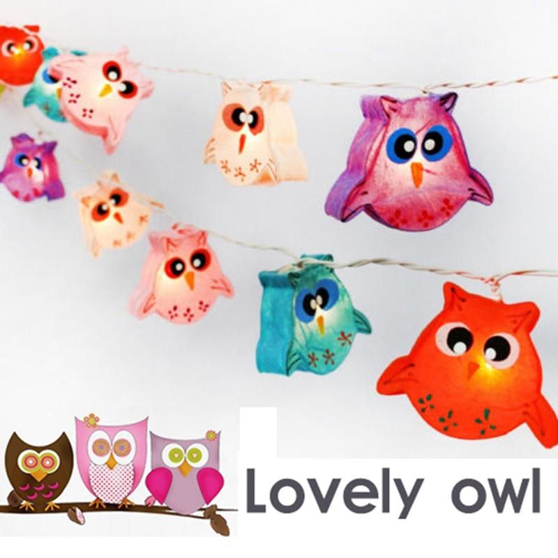 Lovely Owl Baby Eye Small Night Light Children Christmas