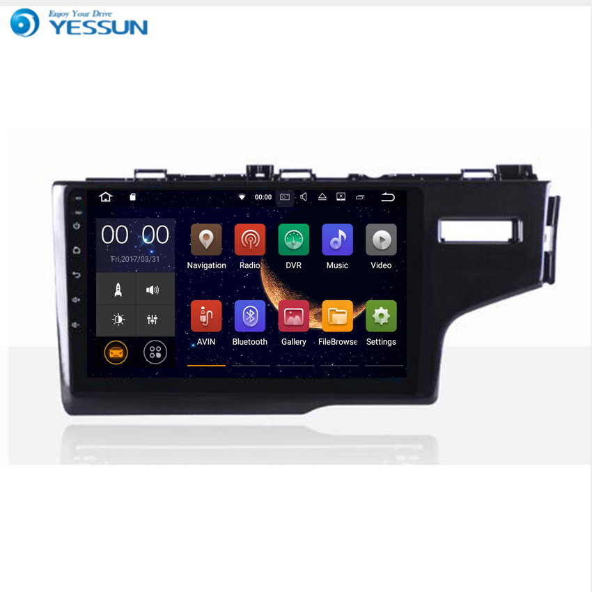 YESSUN Android Autoradio Player Per HONDA FIT/JAZZ 2014 ~ 2016 Stereo Radio Multimediale di Navigazione GPS Con WIFI Bluetooth AM/FM