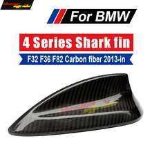 F32 F33 F36 Antenna Cover Trim Shark Fin Carbon Fiber For F80 M3 F82 M4 Covers 420i 428i 430i 440i 2013+