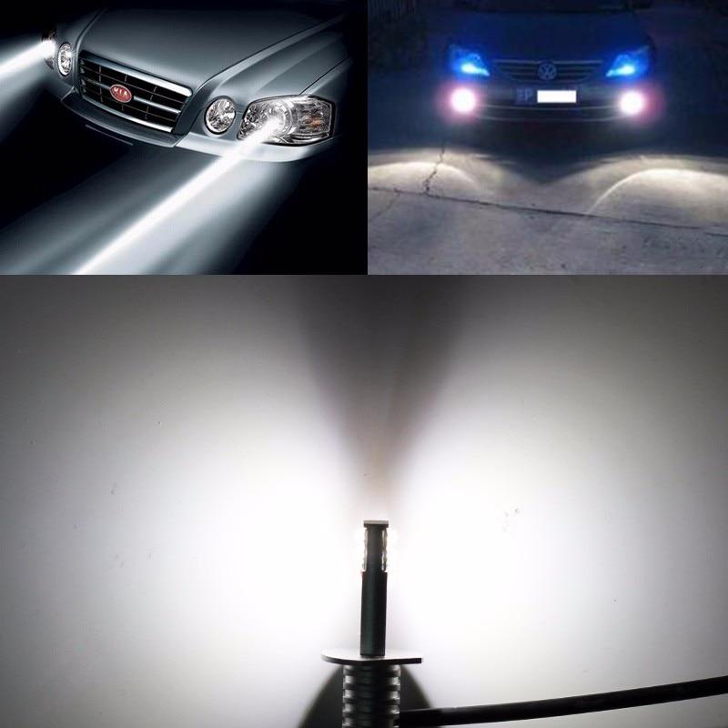 luzes de nevoeiro lâmpada alta brilhante luz diurna auto drl lâmpada 12 v