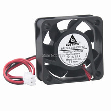 100 PCS Gdstime 12V 2 Pin 40mm 4015 40x40x15mm 4cm DC Brushless Computer Cooler Cooling Fan